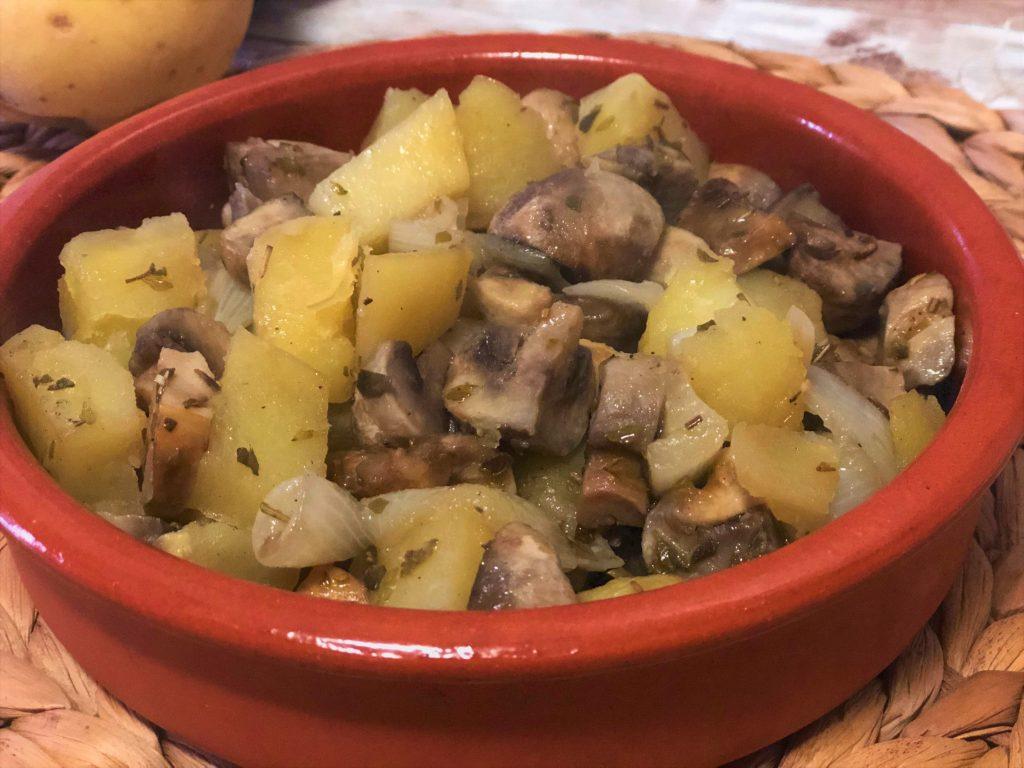 como hacer guarnición de patatas