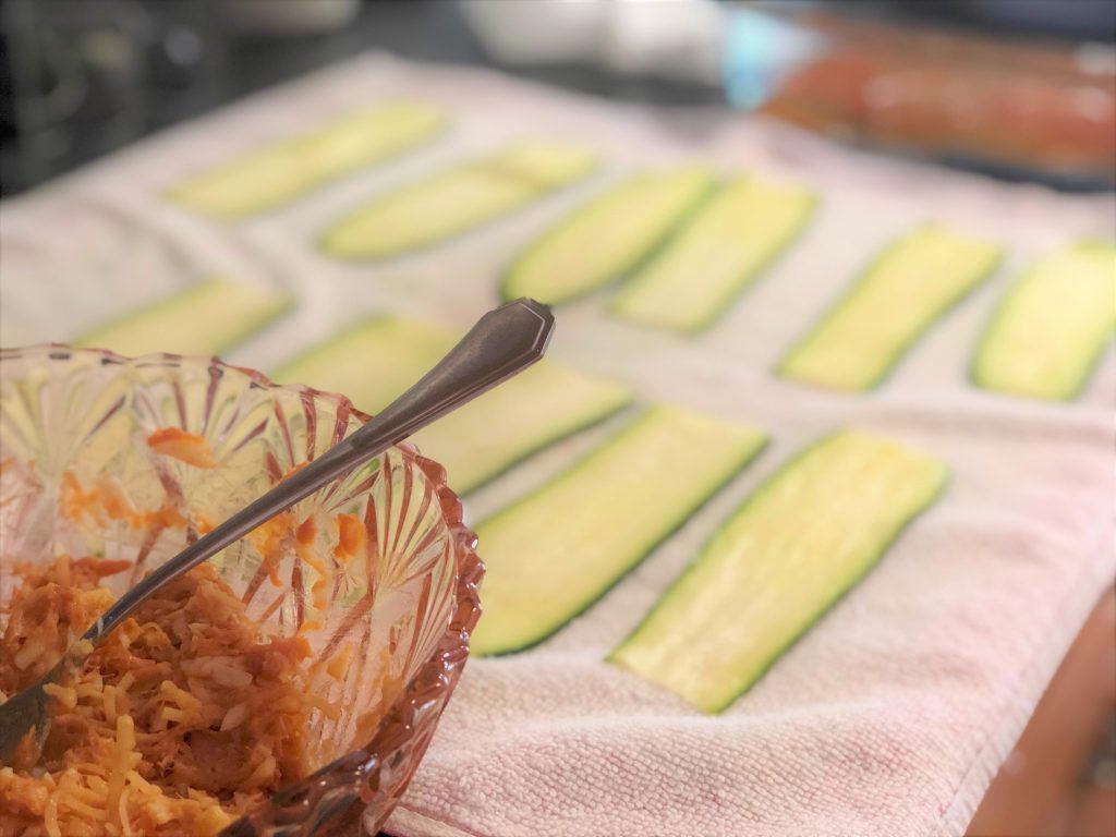 como cocinar calabacín