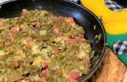 como cocinar judias verdes en revuelto