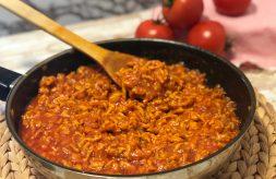 como hacer salsa boloñesa con pollo