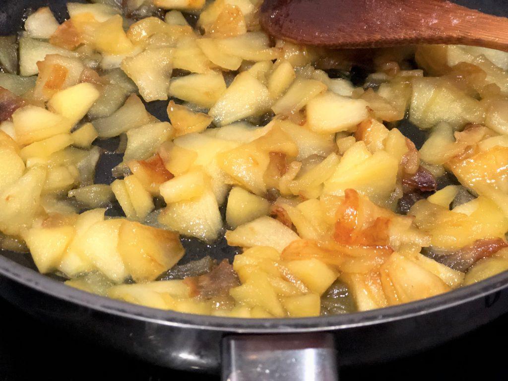 como hacer strudel de manzana