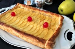 como hacer tarta de manzana fácil