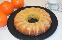 como hacer bizcocho de naranja fácil