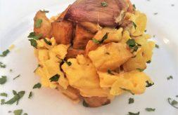 como hacer revuelto de patatas
