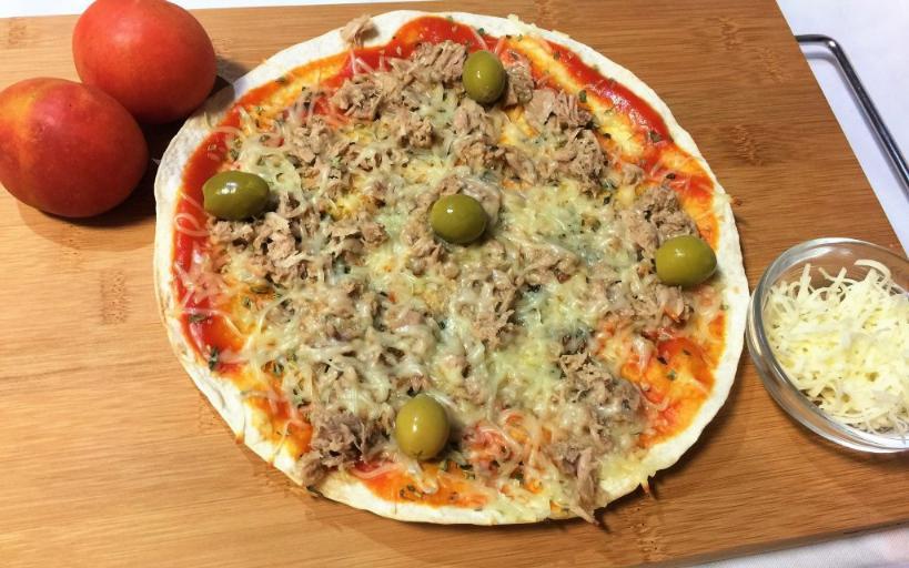 como hacer pizza en sarten