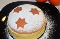 como hacer pastel de queso y naranja