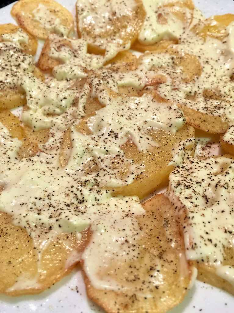 como hacer patatas bravas