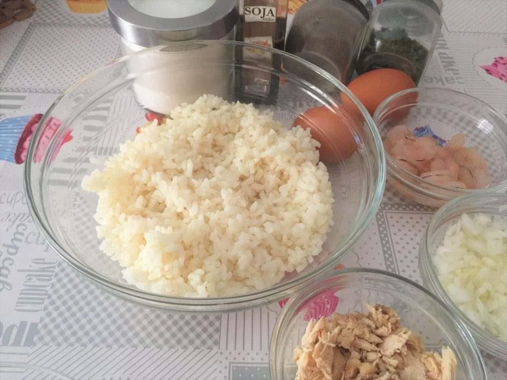 hacer arrozz frito con pollo