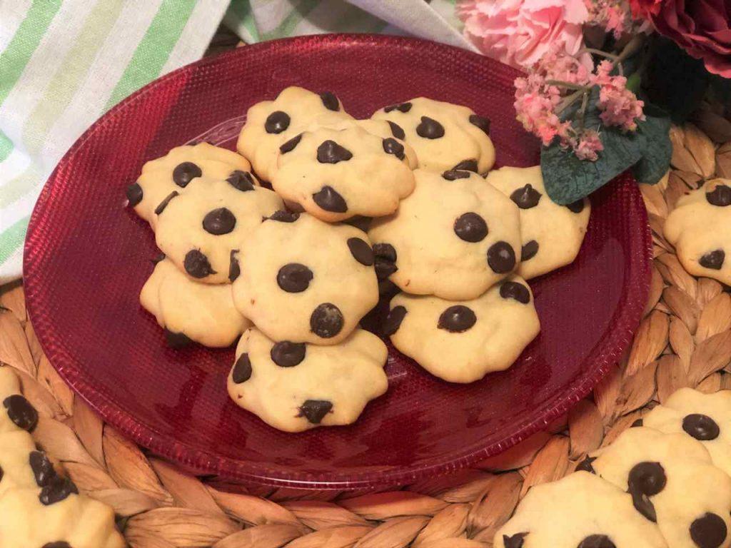 como hacer galletas de nata y chocolate