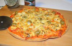 como hacer pizza fácil