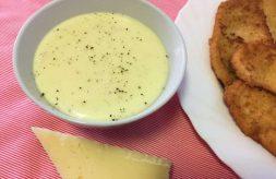 como hacer salsa de queso
