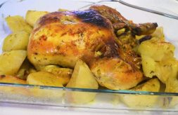 como hacer pollo asado o al horno