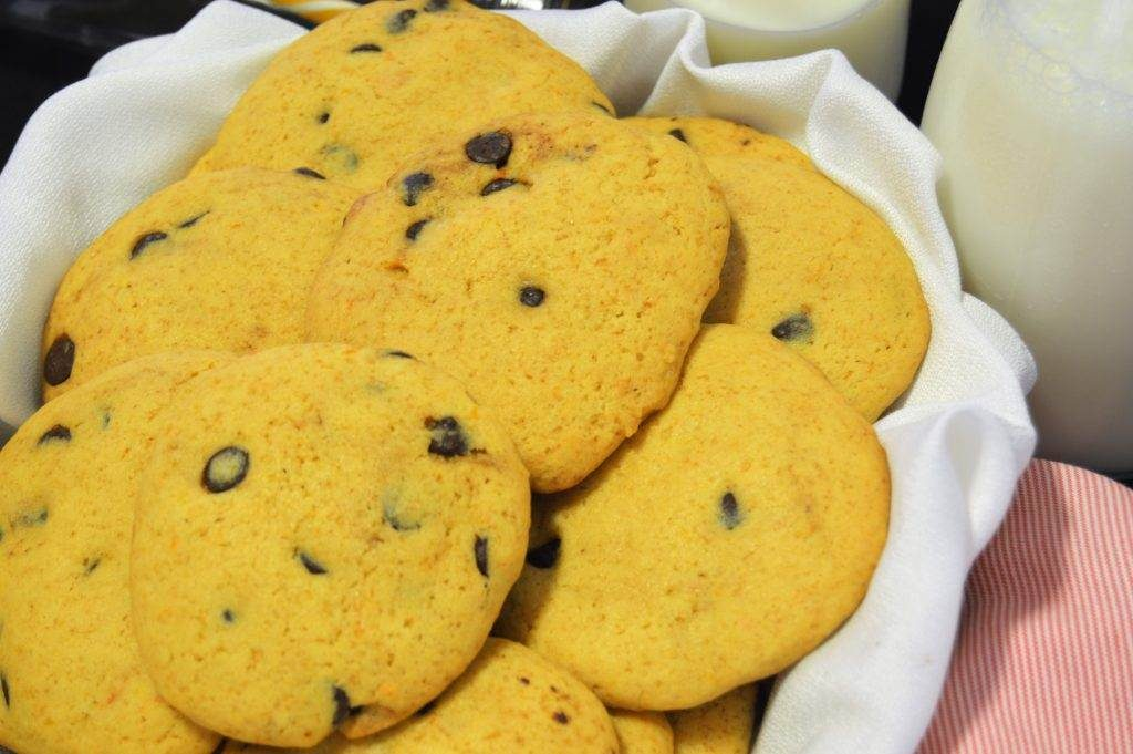 como hacer cookies de boniato y chips de chocolate