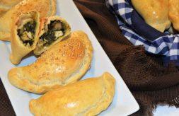 como hacer empanadillas de pollo y espinacas