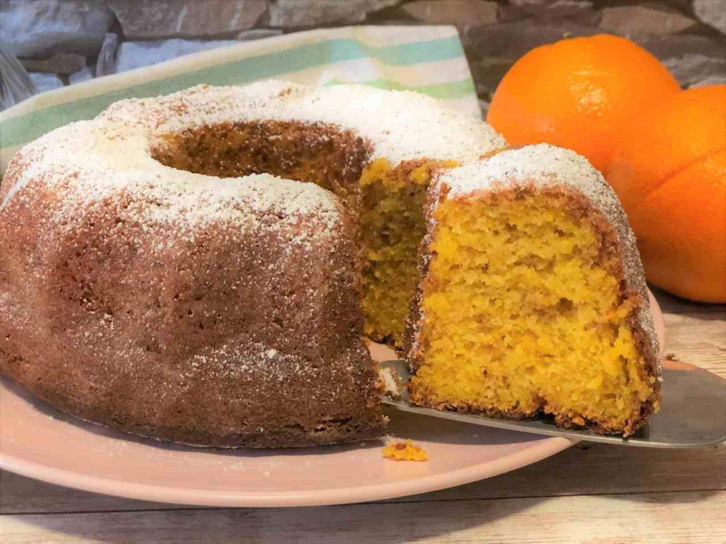 como hacer bund cake de naranja