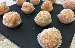 como hacer bolas de boniato, batata o camote y coco