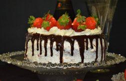 como hacer tarta de nata