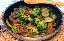 como hacer verduras con soja y cúrcuma