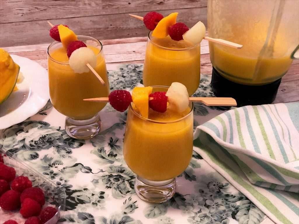 como hacer batido de frutas
