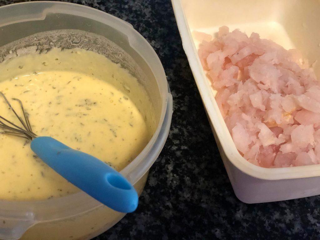 como hacer buñuelos de bacalao