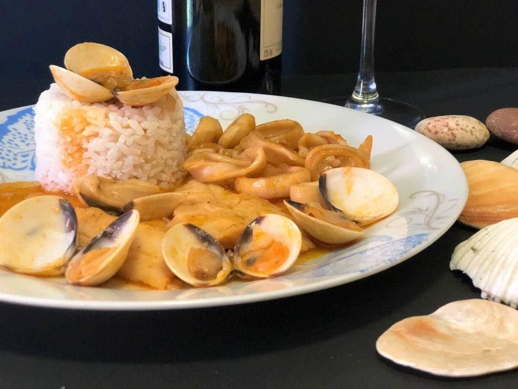 como hacer cazuela de pescado fácil