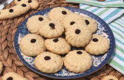 como hacer galletas de coco