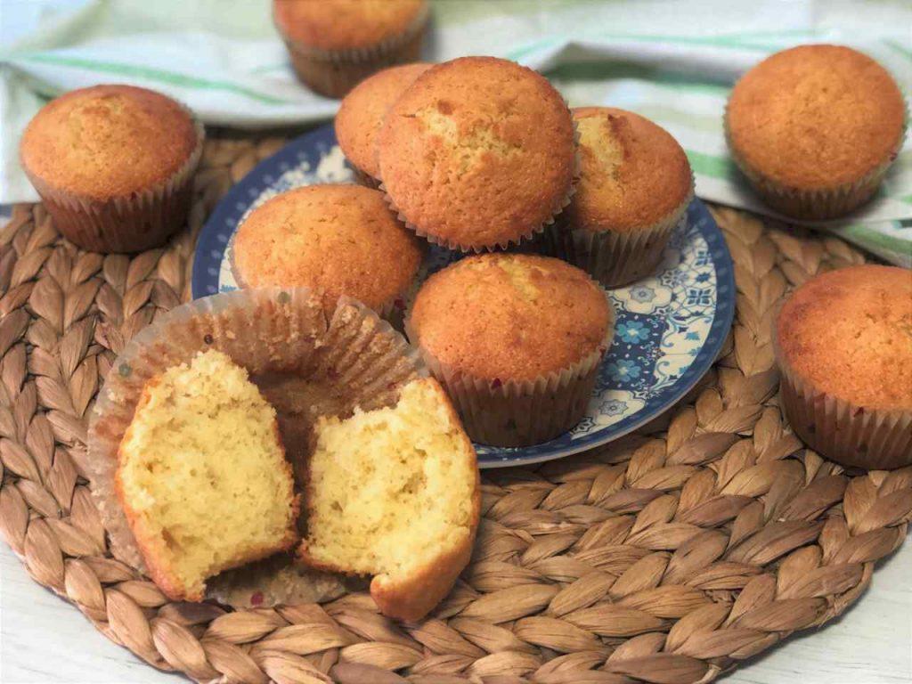 como hacer magdalenas de coco