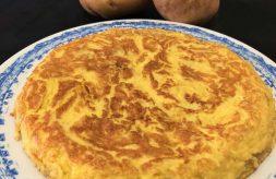 como hacer tortilla de patatas al microondas