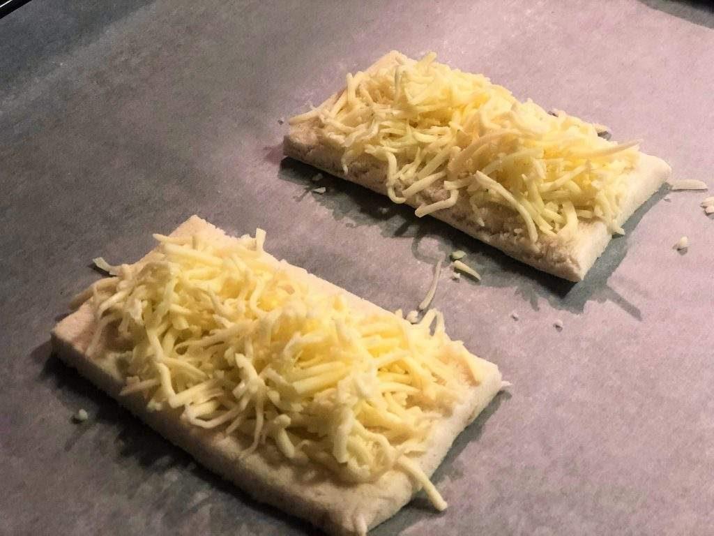 como hacer tostas de jamón y tomate