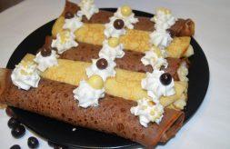 como hacer crepes rellenos de crema pastelera