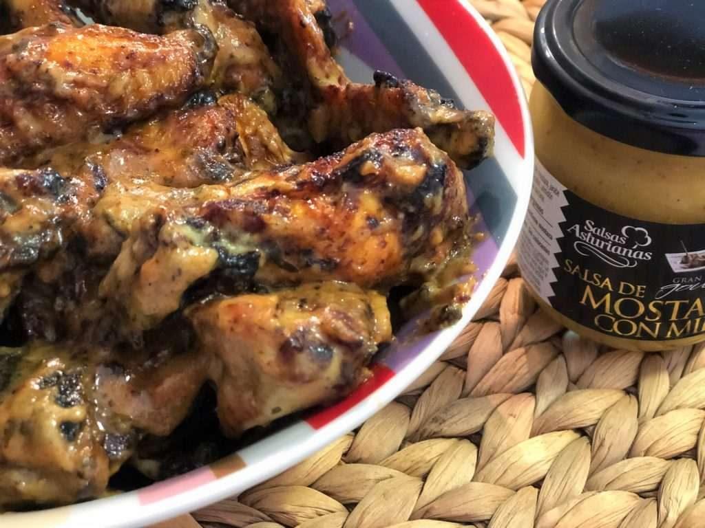 como hacer alitas de pollo