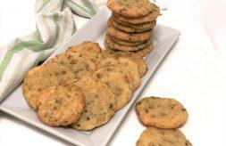 como hacer galletas saladas de queso y aceitunas