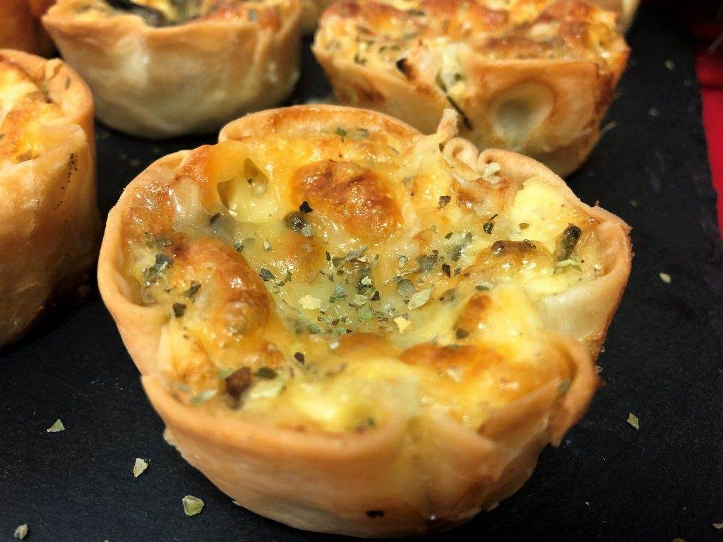 como hacer mini quiches