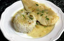 como hacer pescado en salsa verde