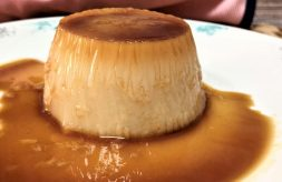 como hacer flan de crema pastelera