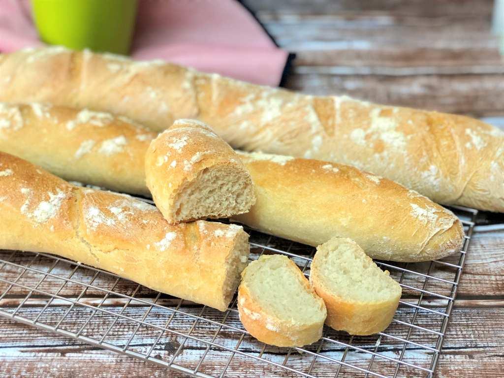 como hacer pan casero