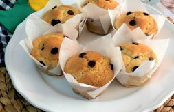 como hacer muffins de naranja y chocolate
