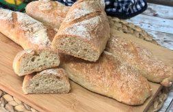 como hacer pan sin amasado
