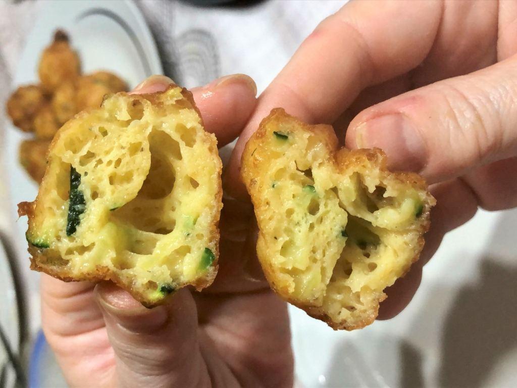 como hacer buñuelos de calabacín