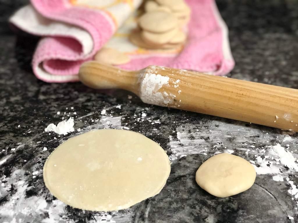 como hacer masa para gyozas