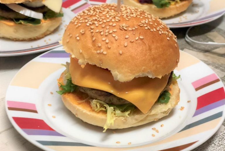 como hacer pan de hamburguesa sin prefermento