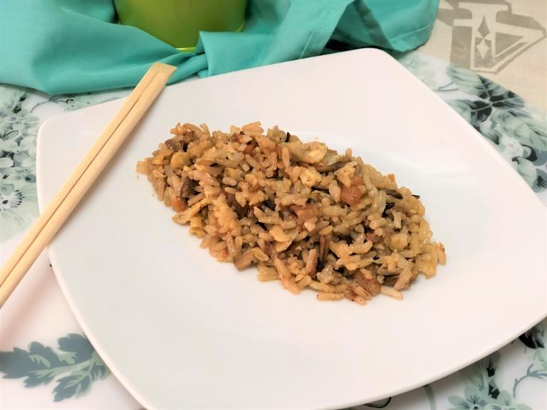 como hacer arroz frito con salsa de ostras
