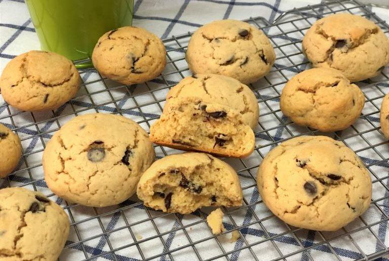 como hacer cookies de vainilla y chocolate