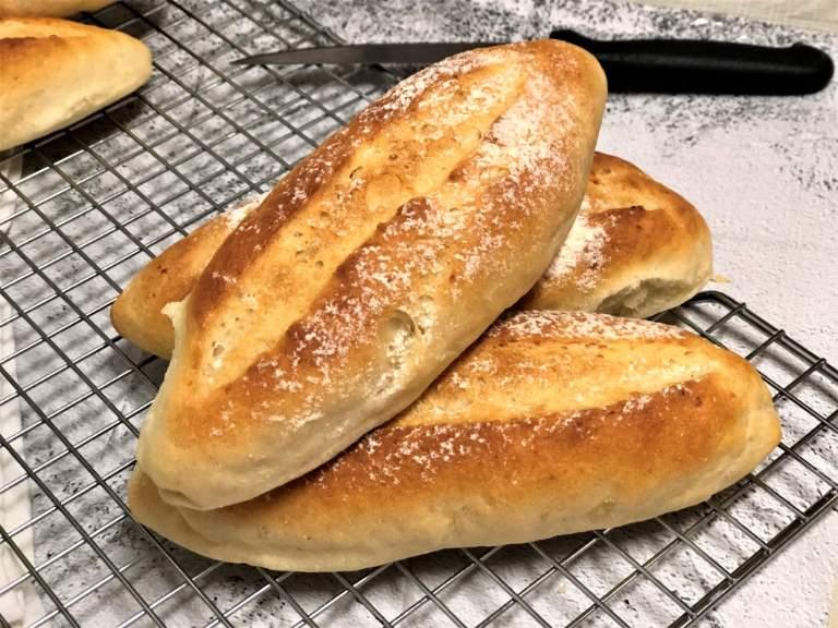 como hacer panecillos sin sal