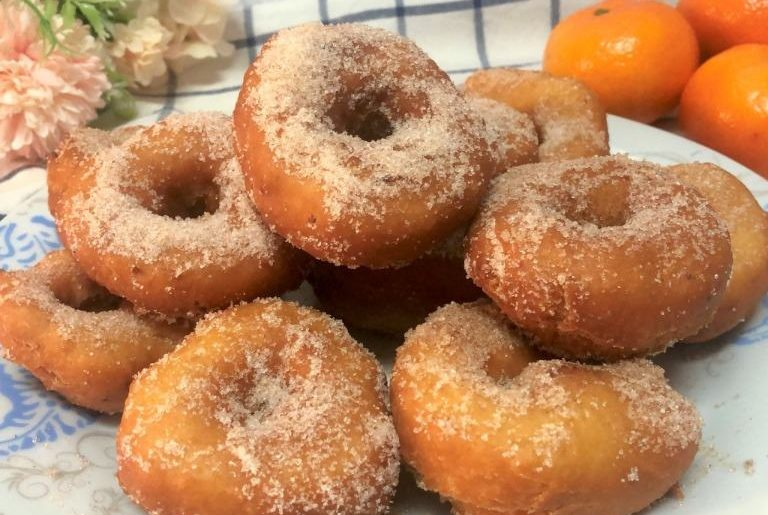 como hacer roscos de mandarina y anís fáciles