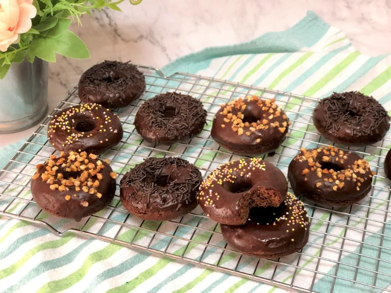 como hacer donuts de yogur