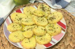 como hacer patatas al ajillo en microondas